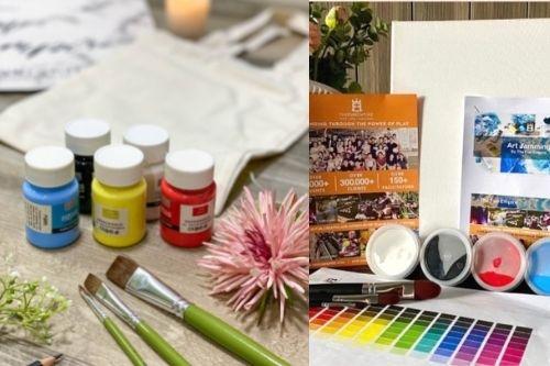 Art Jamming Home Kit - DIY Creative Kits Singapore