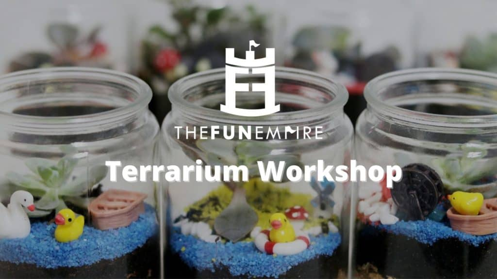 Things To Do In Singapore This Weekend  - terrarium workshop