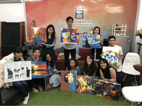 Things To Do In Singapore This Weekend - art jamming workshop