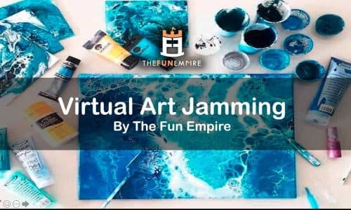 Things To Do In Singapore This Weekend  - virtual art jamming