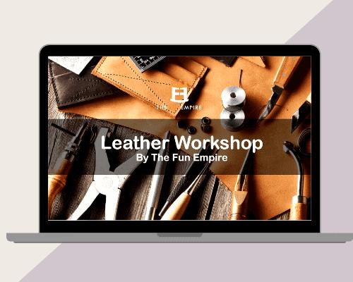 Leather Craft Workshop Singapore -Virtual Team Building Singapore