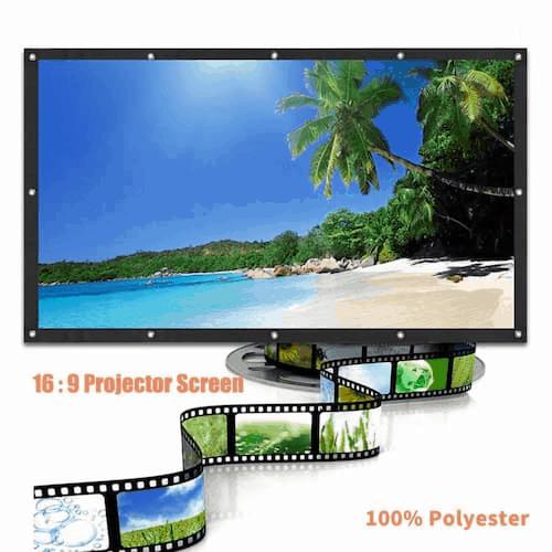Lazada-projector screen Singapore